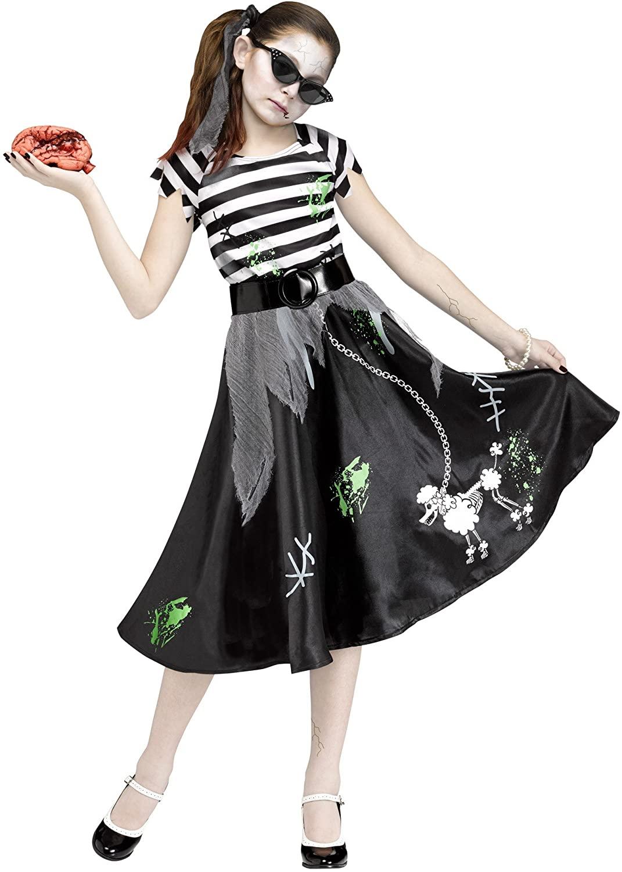 Zombie Sock Hop Child Costume (Large)