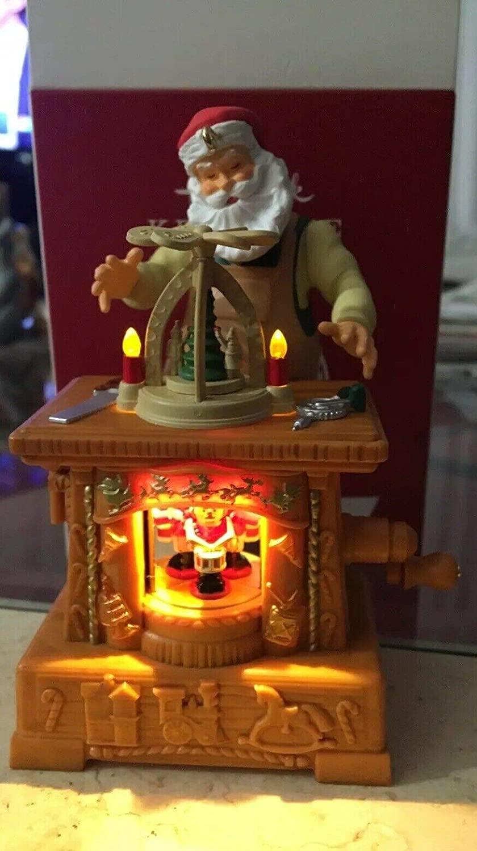 Hallmark Keepsake Club Ornament Toymaker Santa 20th Anniversary 2019