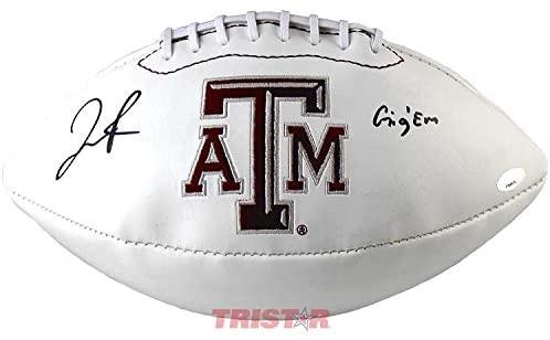 Josh Reynolds Autographed Texas A&M Aggies Logo Football - Autographed College Footballs