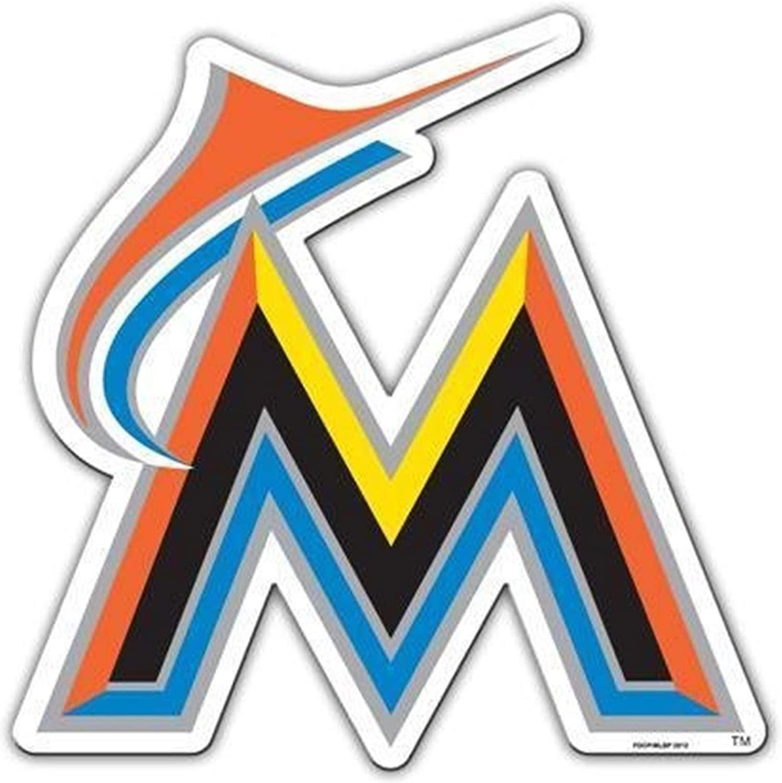Rico Industries, Inc. Marlins Retro Logo 12 Magnet Vinyl Auto Home Heavy Duty Baseball