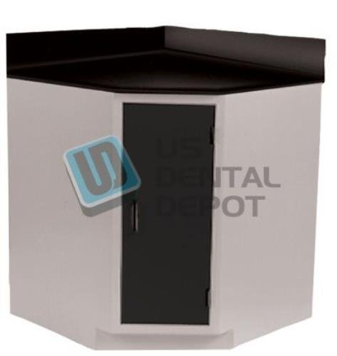 #251 HANDLER - Corner Cabinet {H# 251 ] Dimensions 36 x 36in - weight 103522 Us Dental Depot