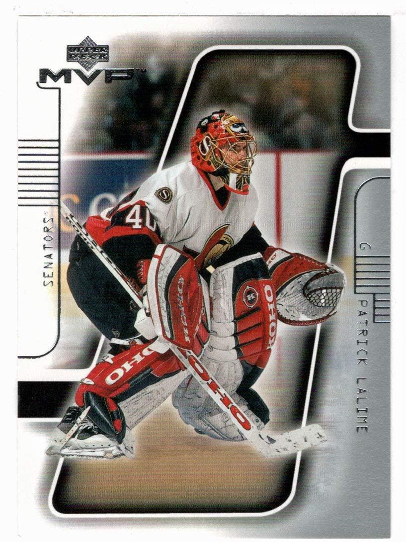 Patrick Lalime - Ottawa Senators (Hockey Card) 2001-02 Upper Deck MVP # 133 Mint