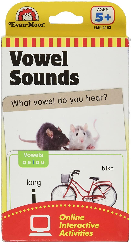 EVAN-MOOR Flashcards: Vowel Sounds