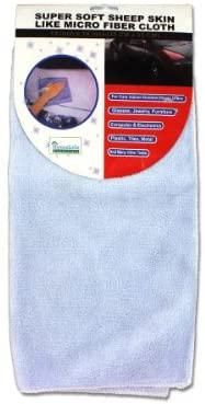 14x14 Inch Sheep Skin Like Micro Fiber Cloth