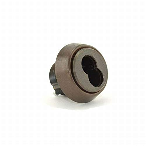 Stanley Best 1E74C181RP3613 7 Pin Standard Mortise Cylinder Adams Rite Cam with Ring Oil Rubbed Bronze Finish