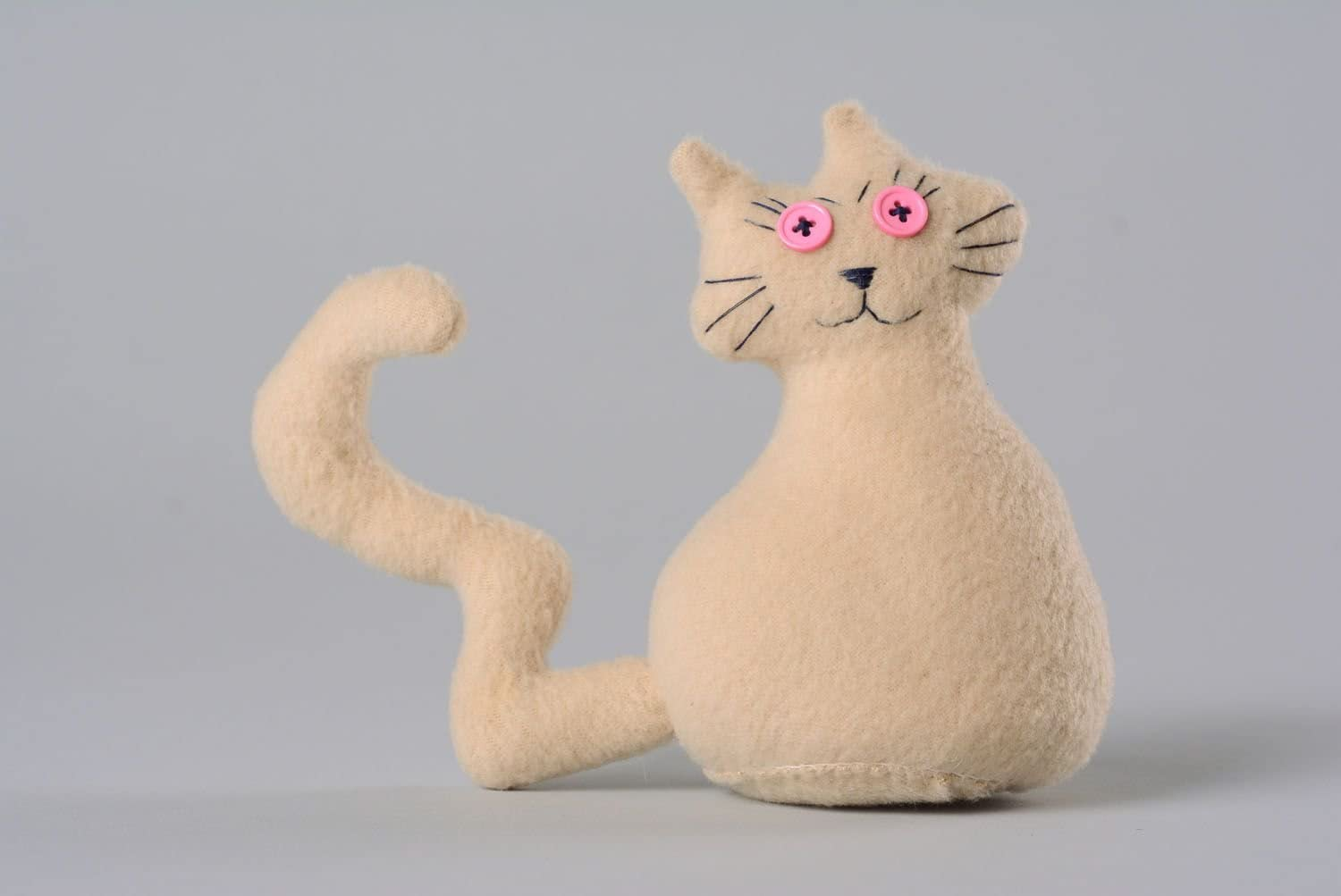 Soft Toy In The Shape Of Cat