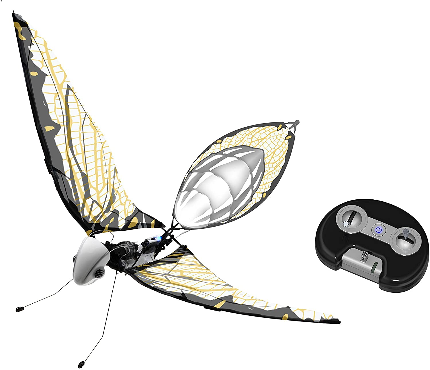 MetaFly Upgrade Kit by BionicBird - Biomimetic and Radio-Controlled Drone Insect for Indoor and Outdoor use