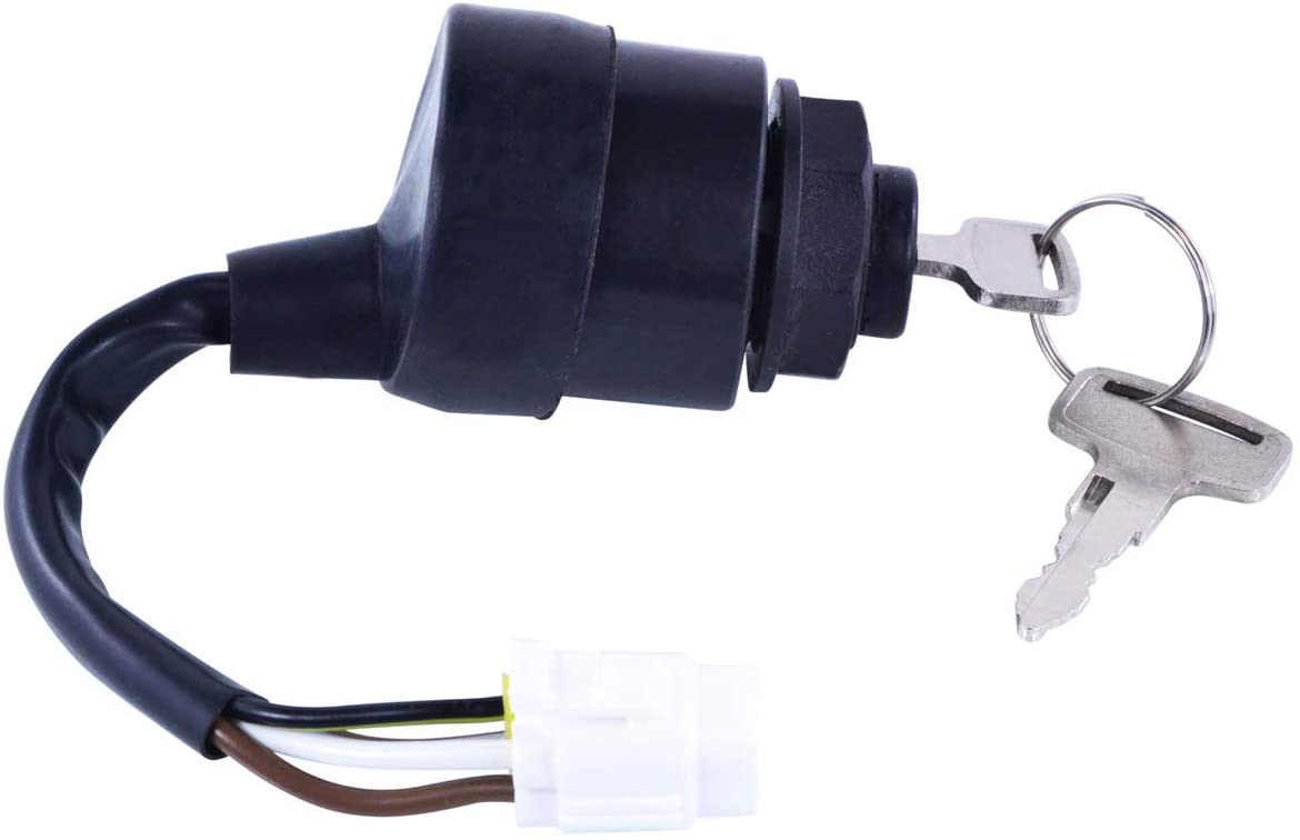 Three Position Ignition Key Switch For Yamaha Apex 1000 Phazer 500 Venture Lite 500 RS Venture 1000 Viking 1000 2012-2019 OEM Repl.# 8HV-82510-00-00
