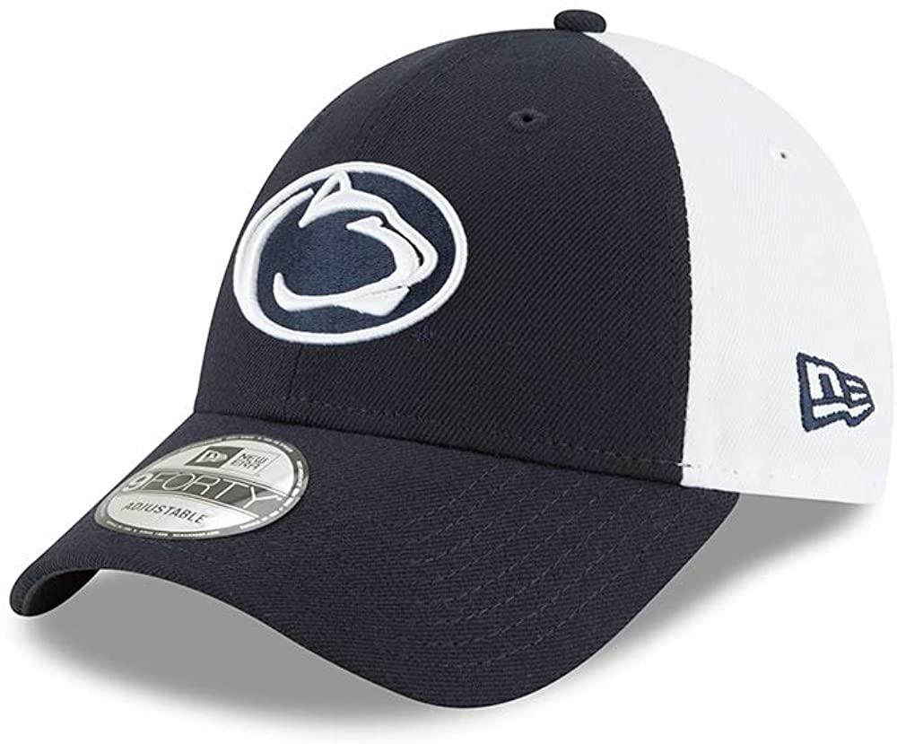 New Era Penn State Nittany Lions Blocked Team 9FORTY Adjustable Hat/Cap