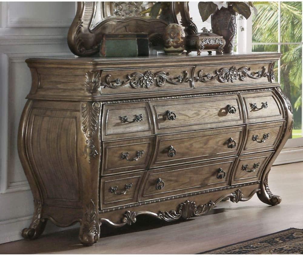 Zebery Acme Ragenardus Dresser in Vintage Oak 26315