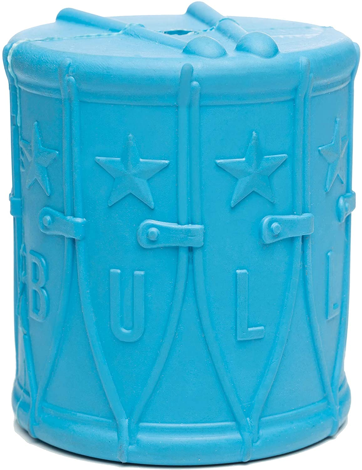 BULLYMAKE - 1776 Drum - Rubber Chew Toy - Made in USA