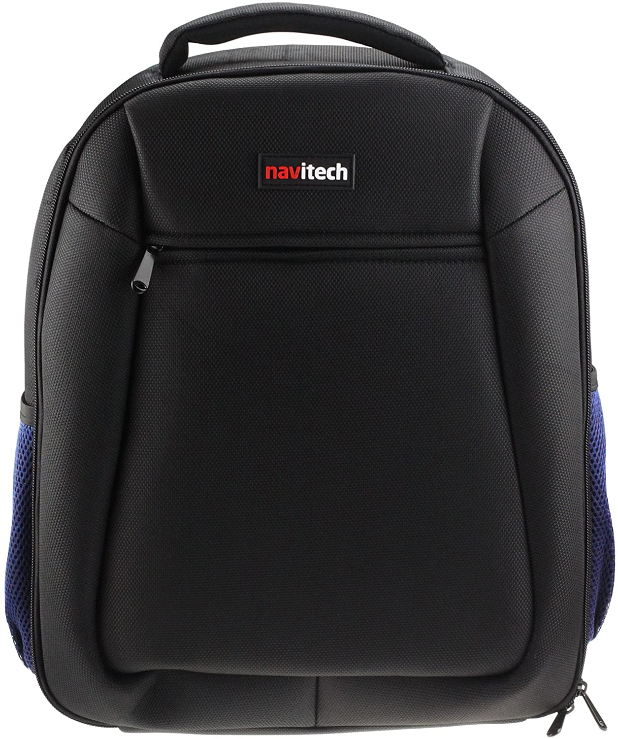 Navitech Black Durable Portable Mobile Scanner Carry Case/Rucksack Backpack Compatible with The Smartoffice Ps283