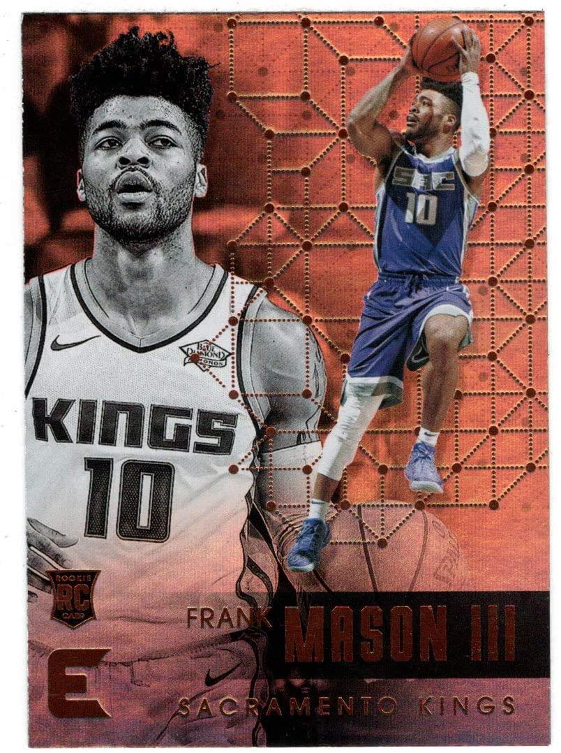 Frank Mason III RC - Sacramento Kings (Basketball Card) 2017-18 Panini Essentials # 101 Mint