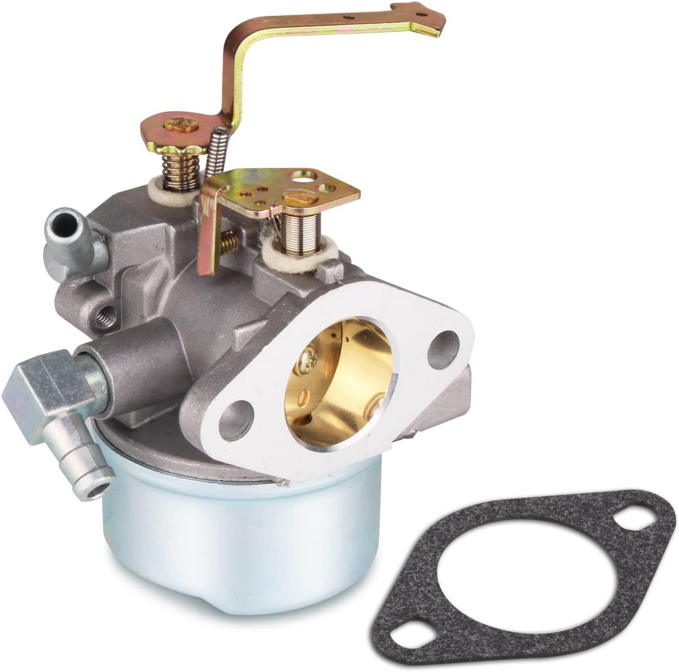 fancyU Tecumseh Carburetor Carb Perfect Replacement, Carburetor for Tecumseh 640152 640152A 640023 640051 640140 640112 HM80,HM90 HM100