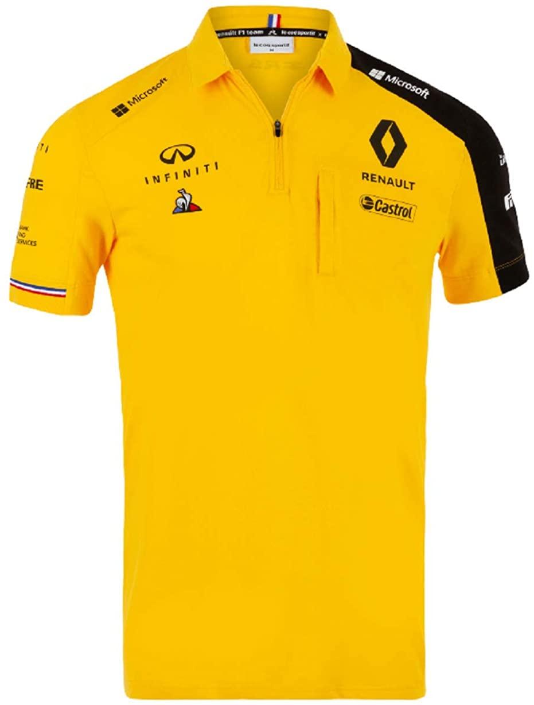Renault F1 2019 Men's Team Polo Yellow (S)