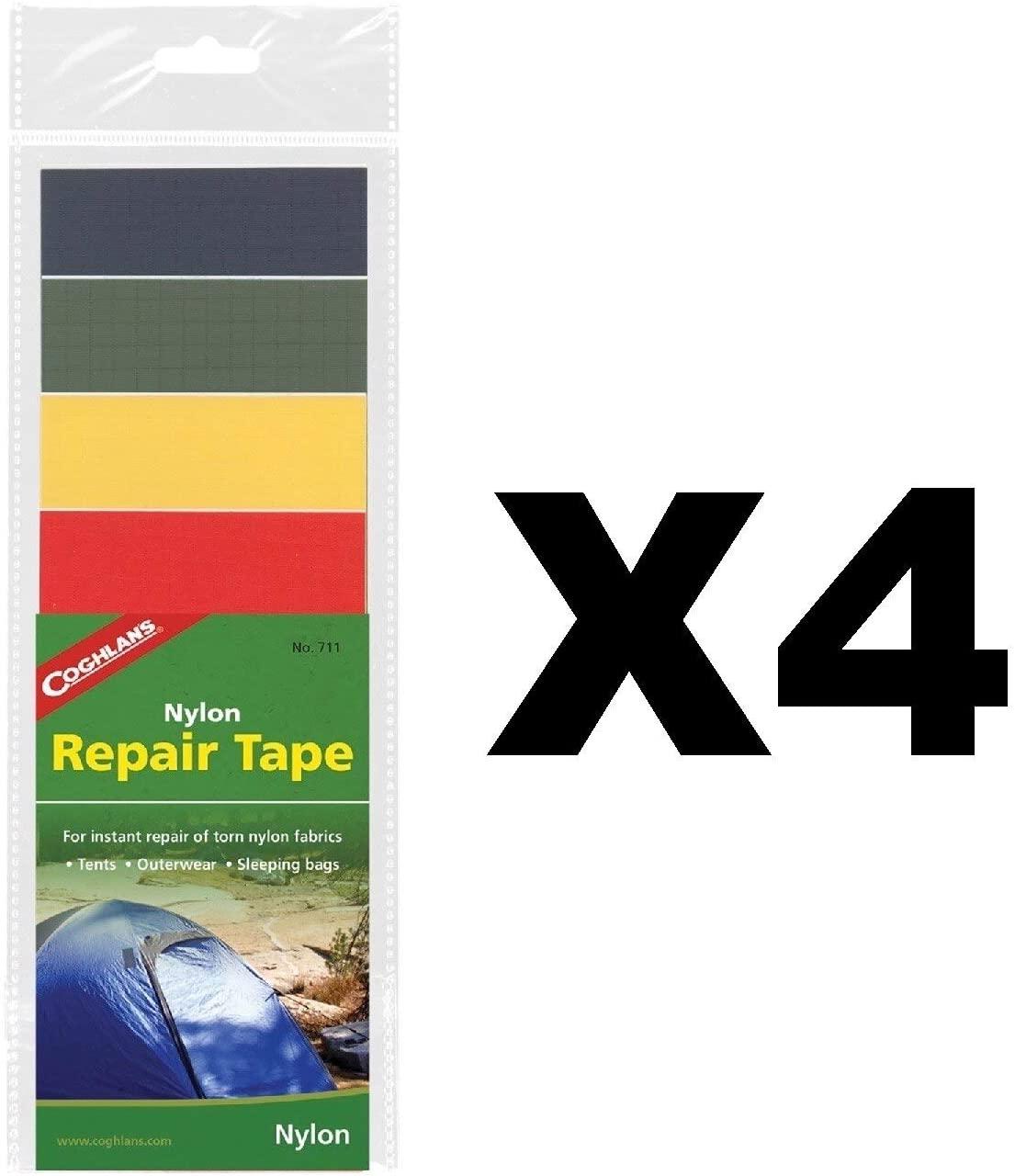 Coghlans 711 Nylon Repair Tape In Four Colors