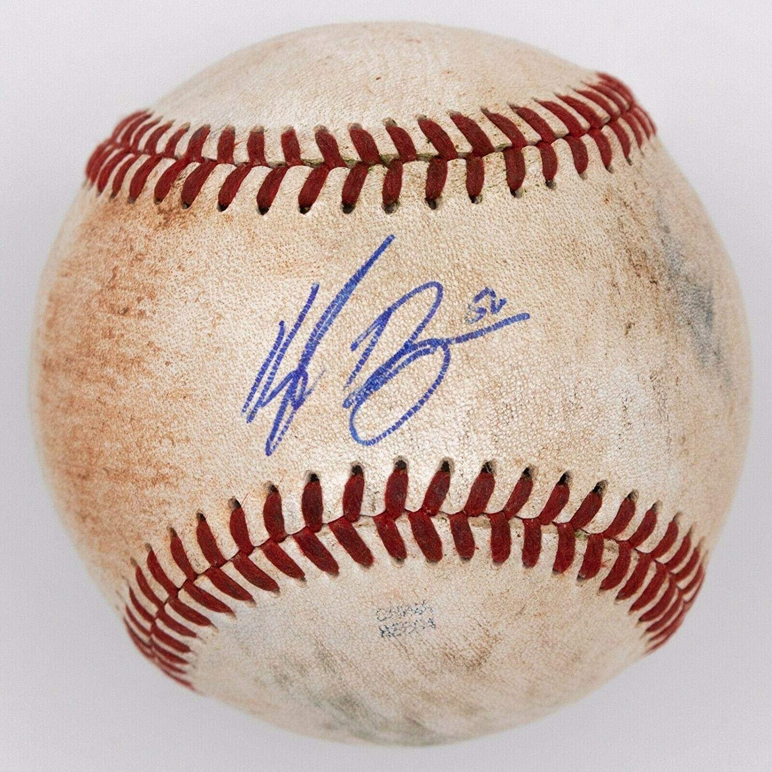 Kyle Ryan Signed Baseball BAS Chicago Cubs Detroit Tigers - Beckett Authentication - Autographed Baseballs