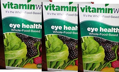 Vitamin Way Eye Health 60 Capsules (Pack of 3)(Whole-Food-Based)