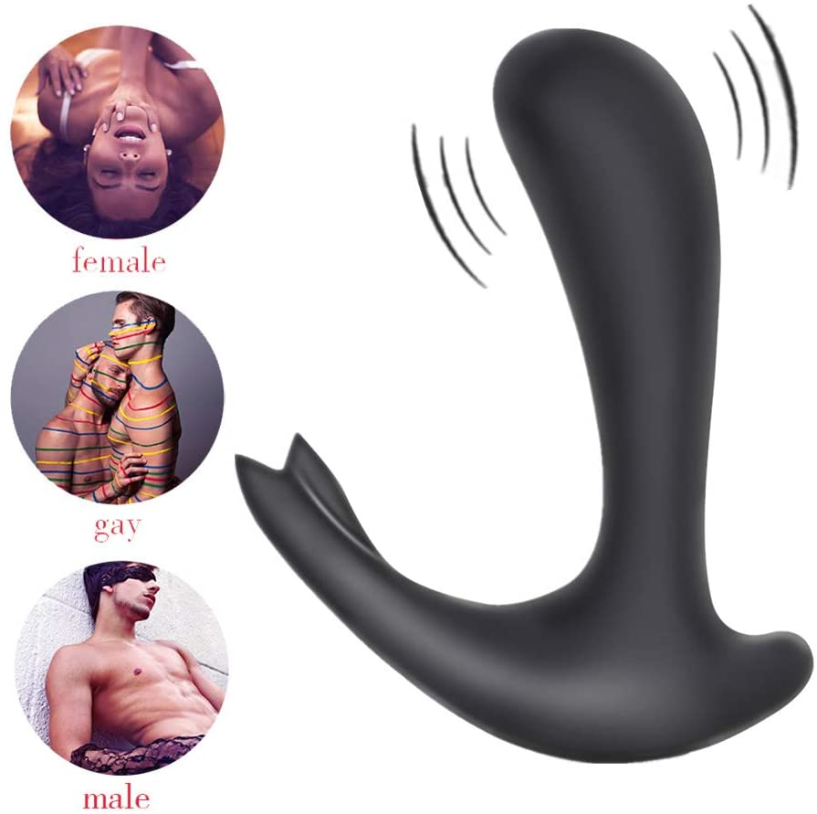 G-spot Anal Vibrator Anal Massage Beads Anal Trainer Toys Butt Expander Flexible S&M Game Toys Suitable for Adults Pleasure by Light S Direct