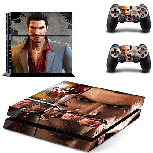 Playstation 4 Skin Set – Mafia game - HD Printing Vinyl Skin Cover Protective for PS4 Console and 2 PS4 Controller by Mr Wonderful Skin