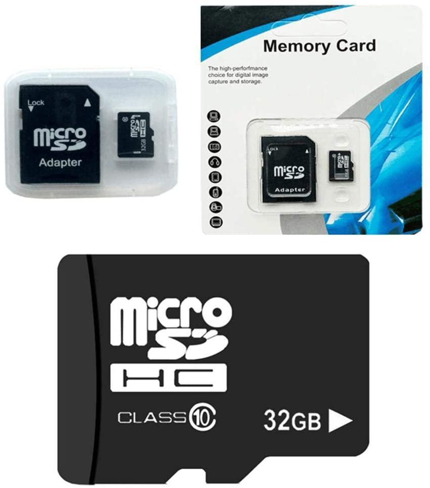 Justew 32G MicroSD Cards 10 High Speed Memory TF Card with Adapter Mobile Phone MicroSD Cards
