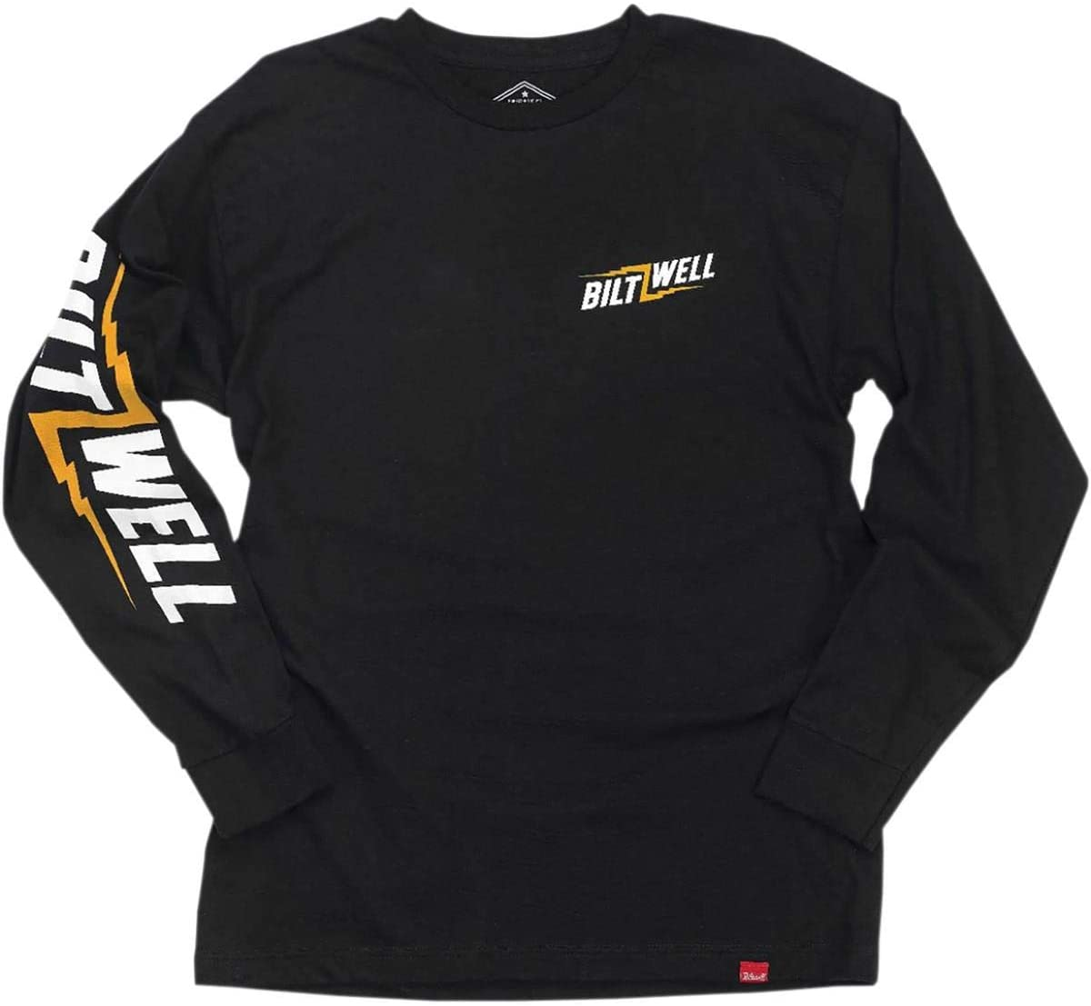 Biltwell Inc. Bolt Long-Sleeve Shirt (Black, Large)