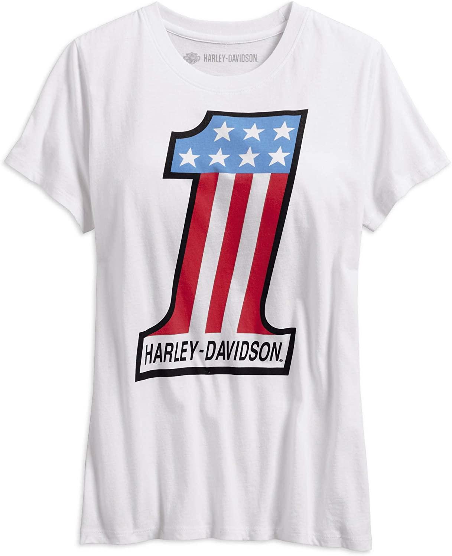 Harley-Davidson Women's Retro #1 Tee