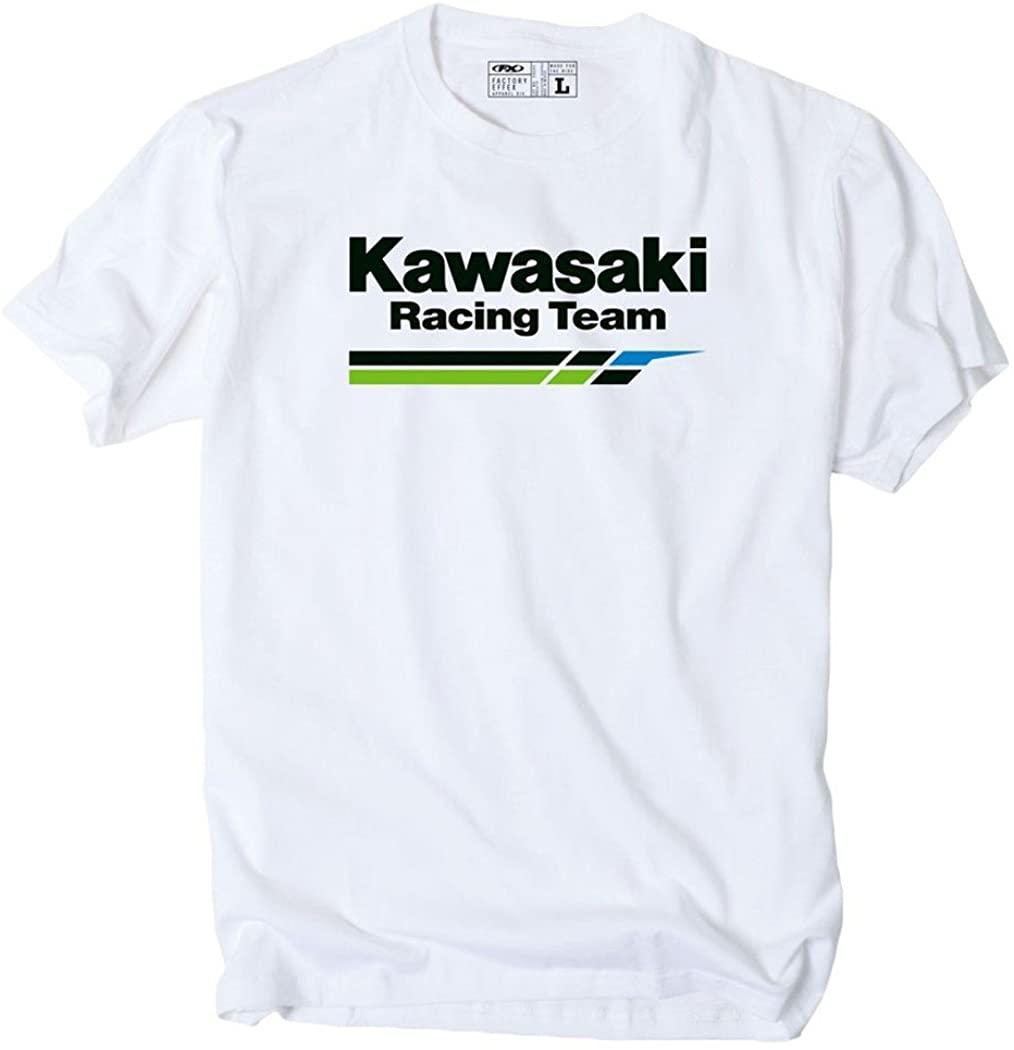Factory Effex Tee Shirt - Kawasaki Racing Team - White