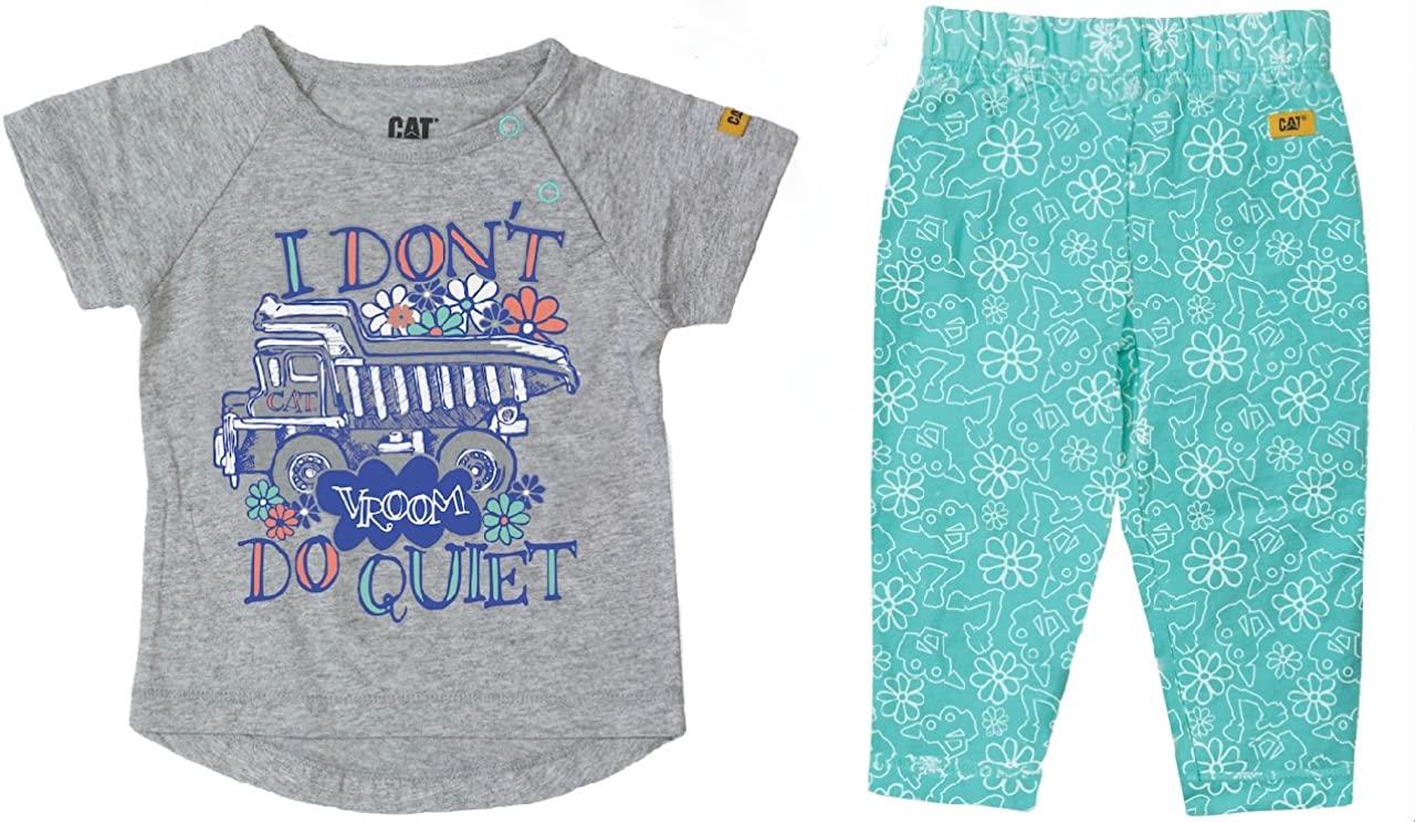 Caterpillar Infant T-Shirt and Pants Diva Set