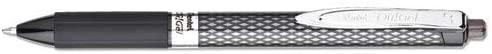 Oh! Gel Retractable Roller Pen.7mm, Black Barrel/Ink, Dozen