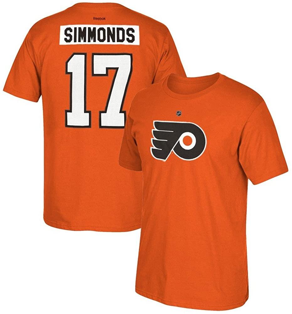 Reebok NHL Mens Home Premier N&n Tee #17 Wayne Simmonds