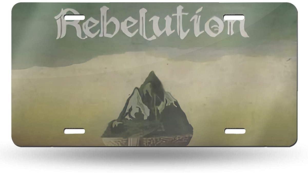 1563 Rebelution License Plate 6