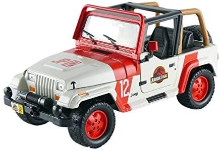 Jeep 1992 Wrangler Jurassic World Movie 1/24 by Jada 97806