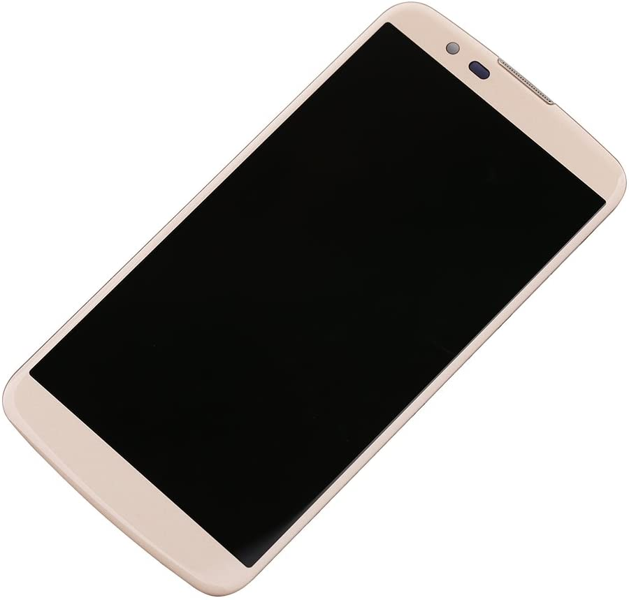 New Assembly Replacement for LG K Series K10 K420N K410 K430ds K428 MS428 K428SG Touch Digitizer LCD Screen Display Frame Glass Gold