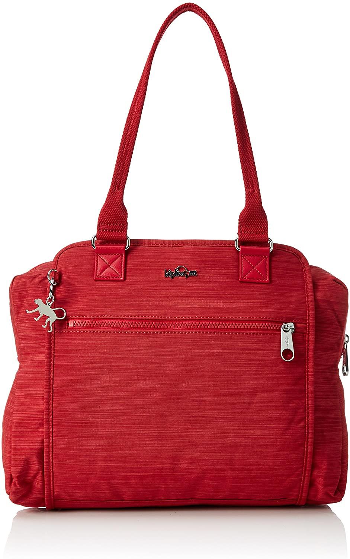 Kipling Faye Fever Large A4 Shoulder Bag Dazz Red