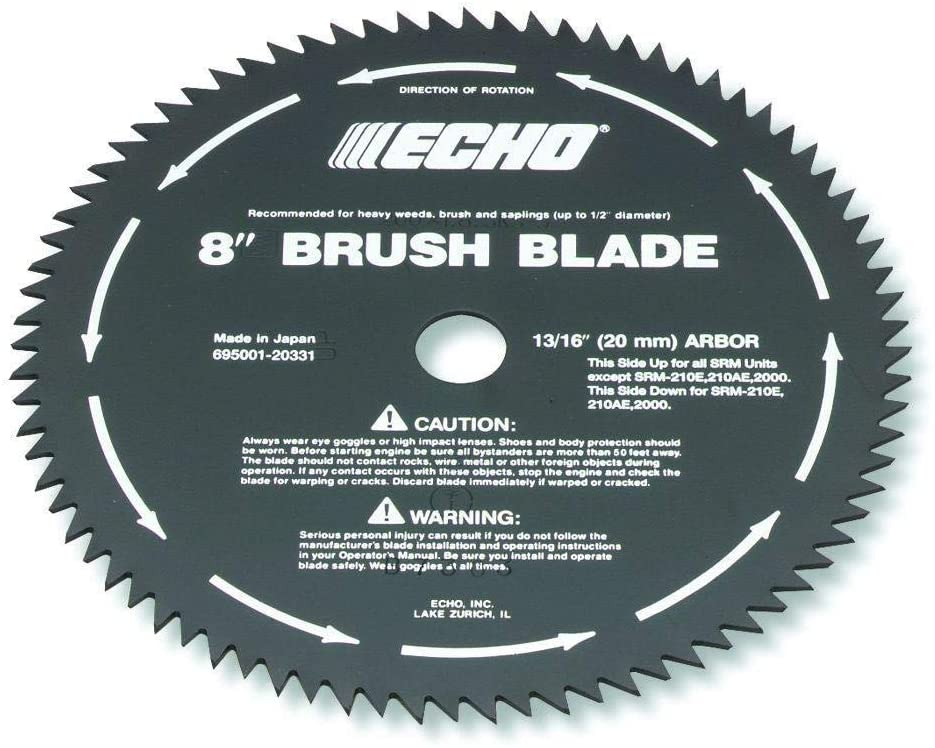 Echo 69500120331 80-Tooth Brush Blade