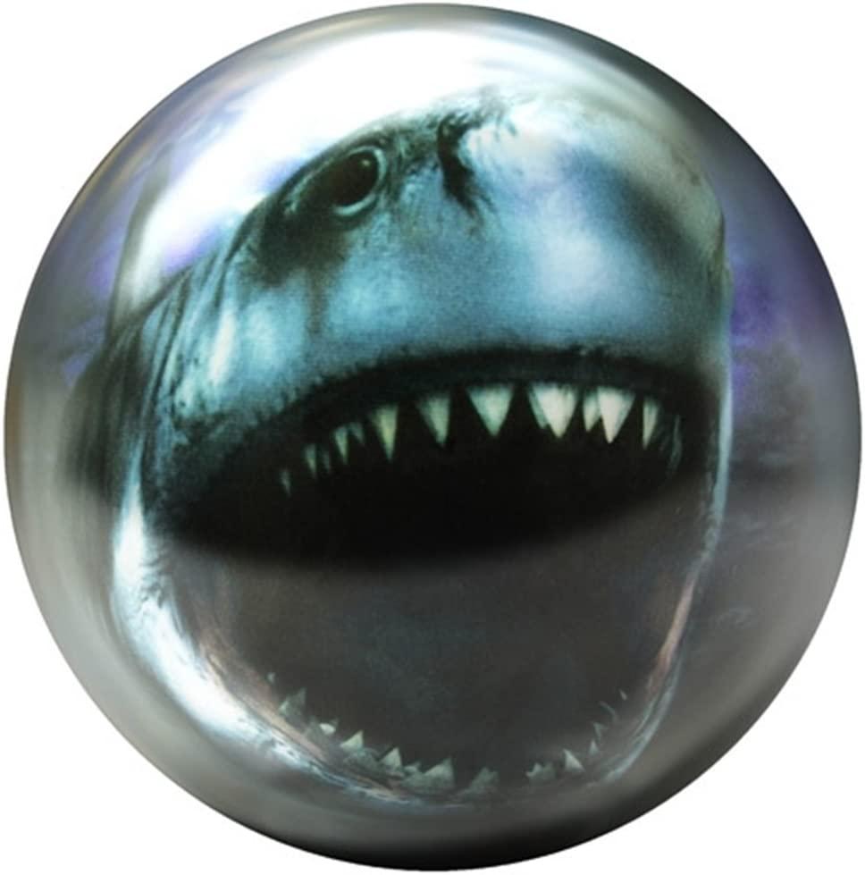 Brunswick Shark Glow PRE-DRILLED Viz-A-Ball Bowling Ball