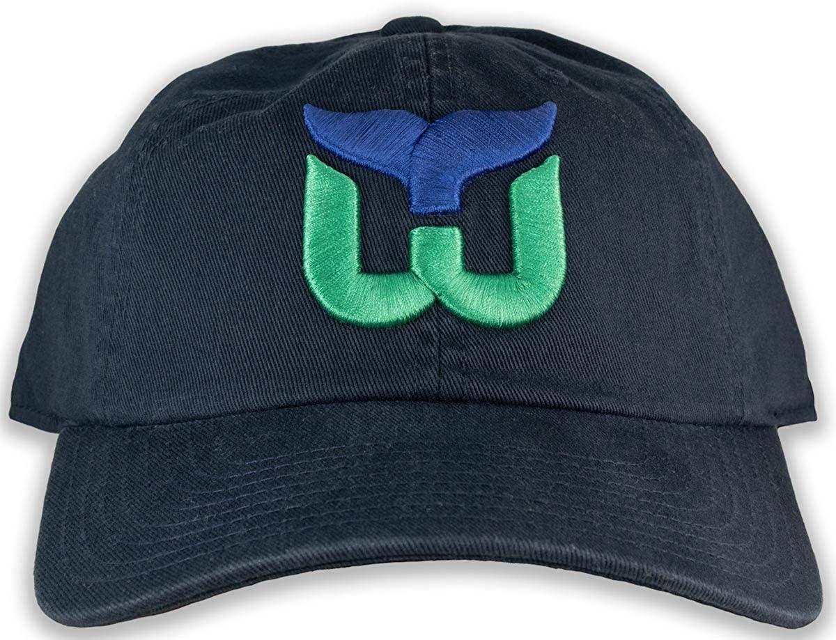 AMERICAN NEEDLE Hartford Whalers - Mens Blue Line Snapback Hat