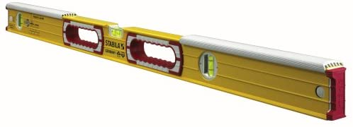 Stabila 36448-48-Inch Mason Level with dead-blow shield