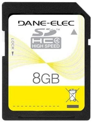 Dane-Elec 8 GB 8GB SD SDHC Secure Digital Memory Card