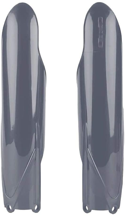 Polisport Fork Cover Set (Nardo Grey) for 15-20 Yamaha YZ250