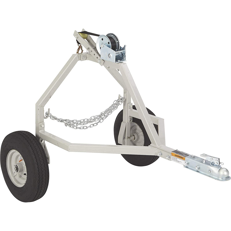 Strongway ATV Log Skidding Arch - 1000-Lb. Capacity, 18in. Dia. Capacity