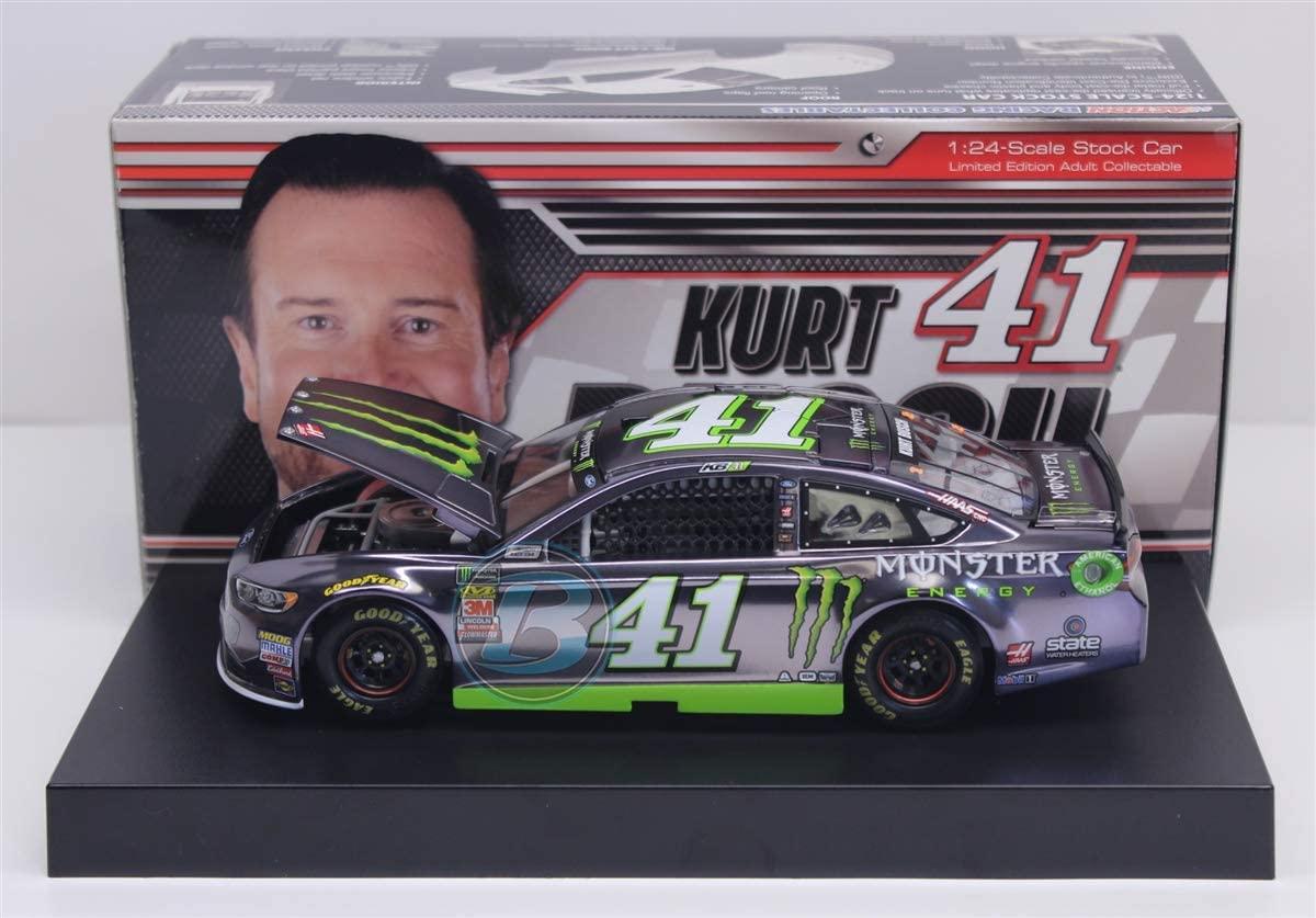 Lionel Racing Kurt Busch 2018 Monster Energy 1:24 Color Chrome Nascar Diecast