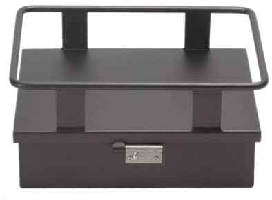 Pacific Customs Black Anodize Small Ice Chest Cooler Rack with Storage Compartment