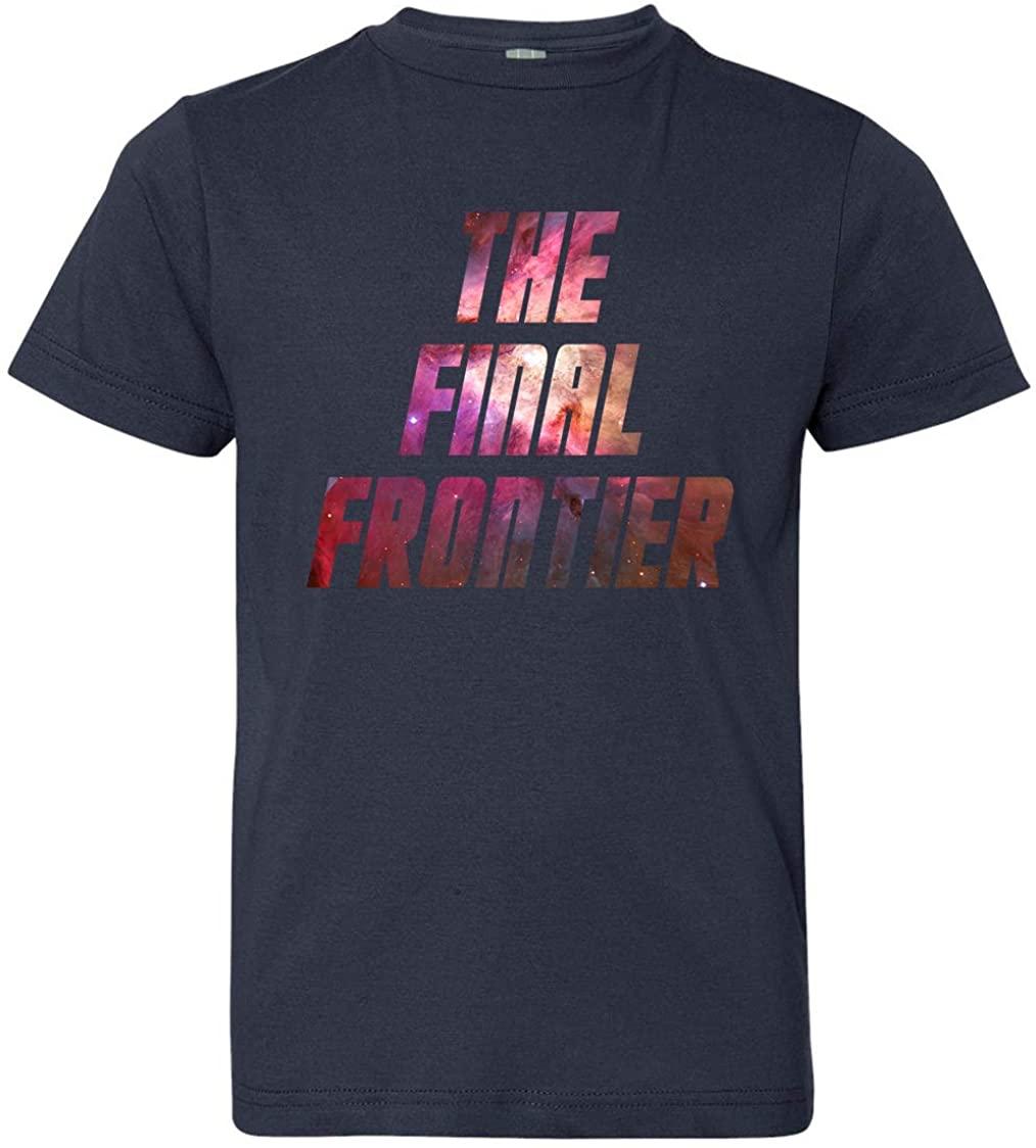 Tenacitee Boy's Youth Final Frontier T-Shirt