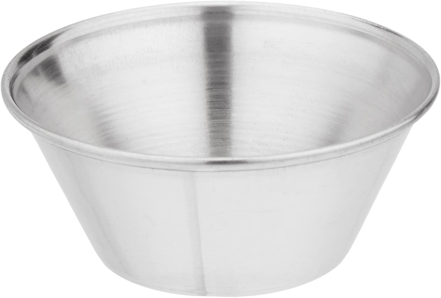 Winco SCP-15 Stainless Steel Sauce Cup, 1.5-Ounce