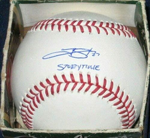 Trevor Story Autographed Baseball - Bas #t77845 Ins - Beckett Authentication - Autographed Baseballs