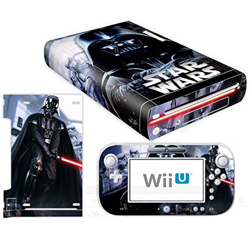 Vanknight Vinyl Decal Skin Sticker for Wii U Console and Controller by Vanknight