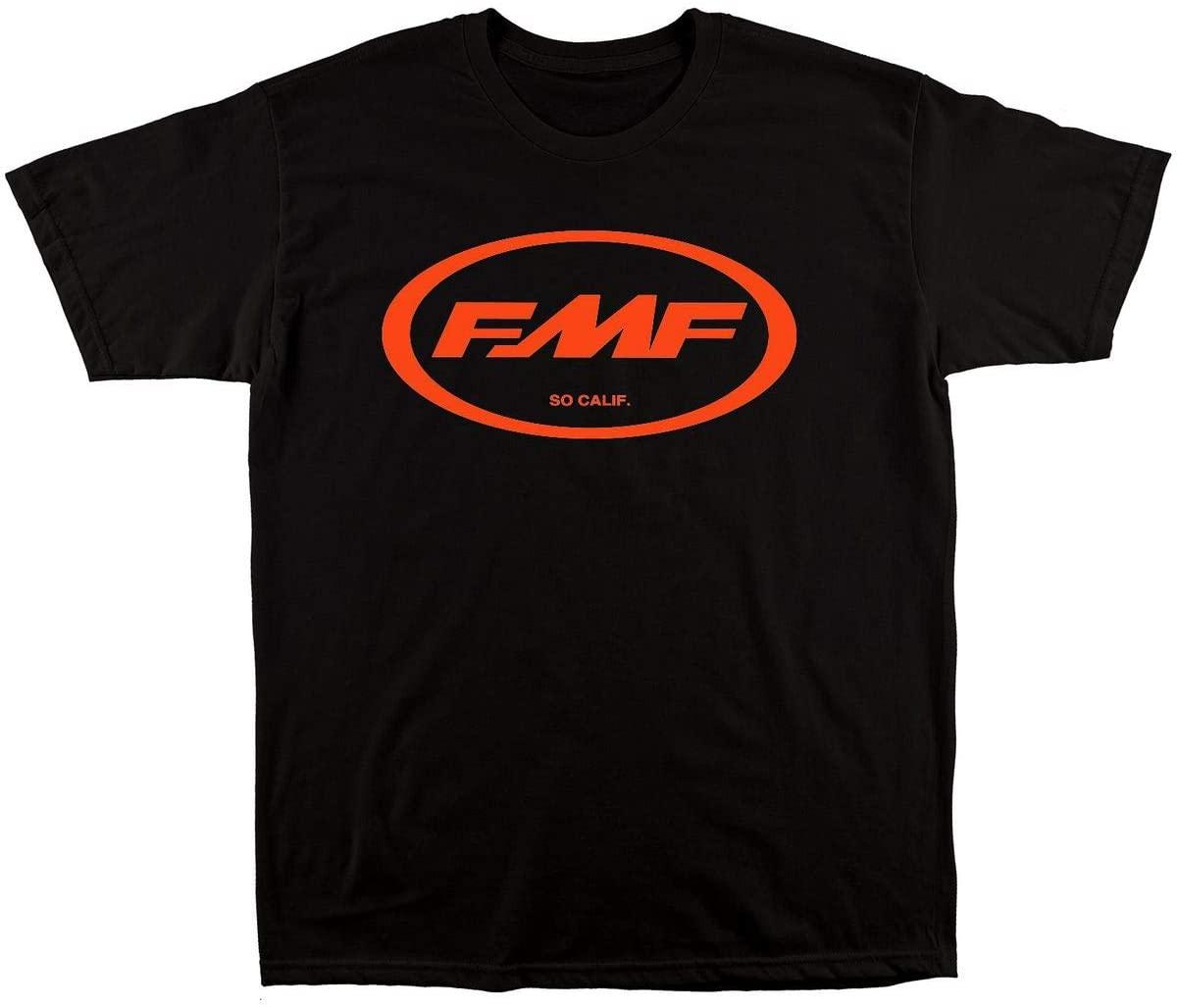 FMF Men's Factory Classic Don 2 Graphic T-Shirt-Medium Black/Orange