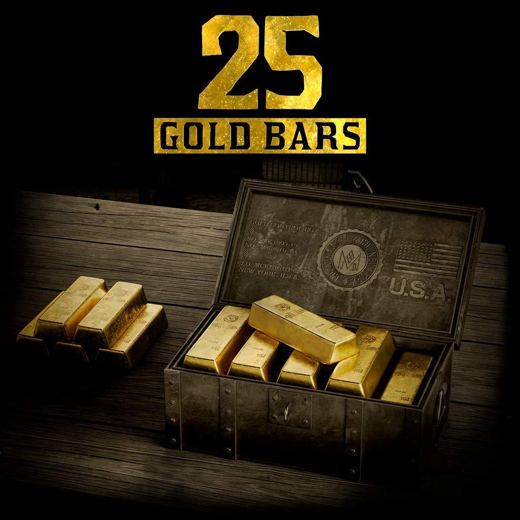 Red Dead Redemption 2 25 Gold Bars - PS4 [Digital Code]